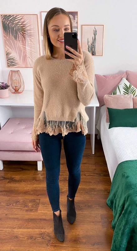 Sweter Maria camel