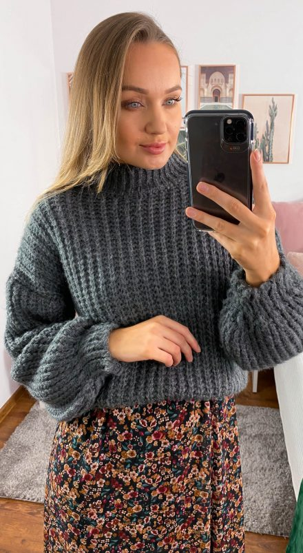 Sweter Kylie szary
